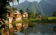 mai chau one day trip-village