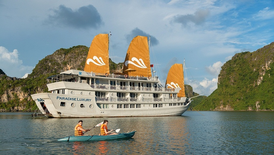 Paradise Cruise 2 Days 1 Night Journey Vietnam