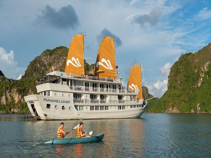 Paradise Cruise 3 Days 2 Nights Journey Vietnam