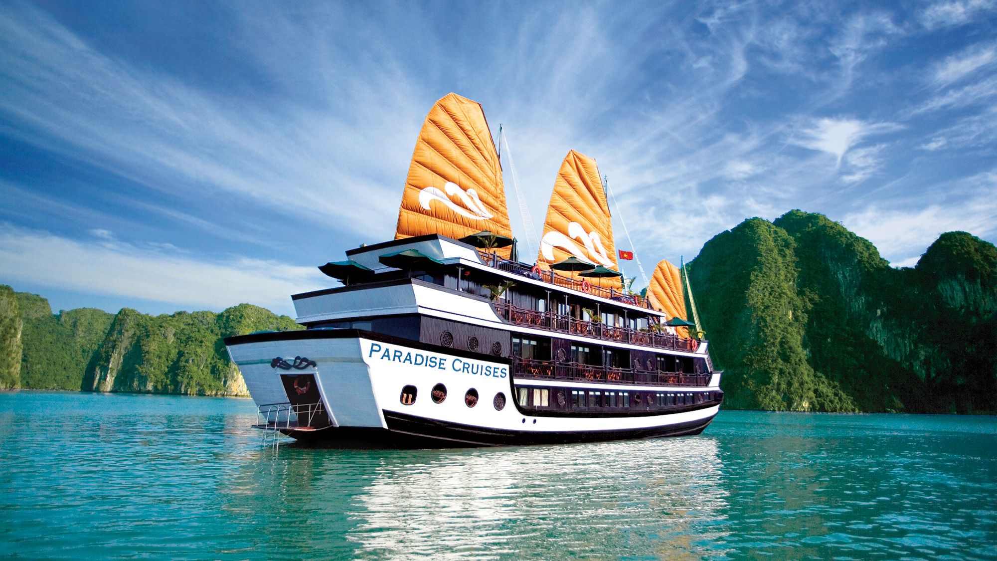 Paradise Cruise 2 Days 1 Night, Journey Vietnam