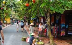 street in hoi an vietnam