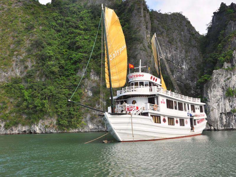 calypso cruise journeyvietnam