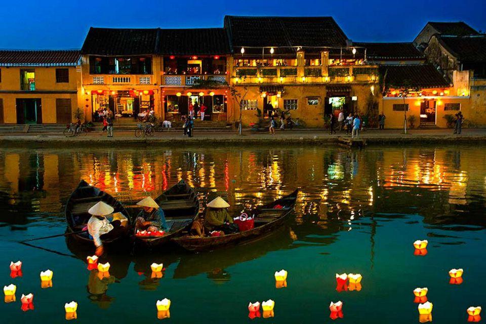 Thu Bon River at Night - Hoi An Ancient Town