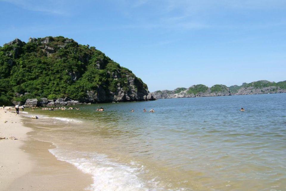 Ngoc Vung Beach Halong Bay