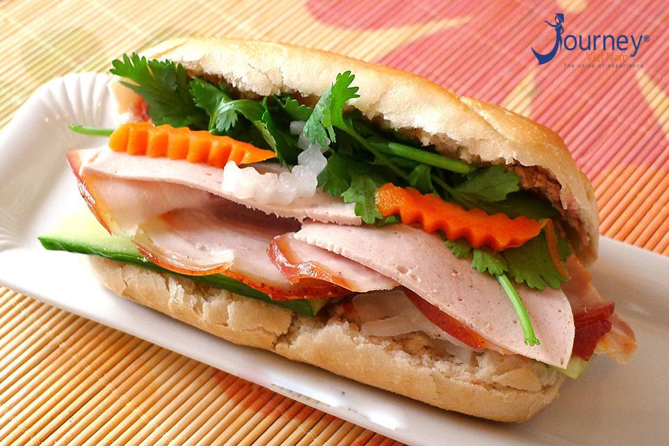Banh My (Vietnamese Sandwich) at 25 Hang Ca