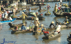 Cai Be Floating Market Vietnam Travel