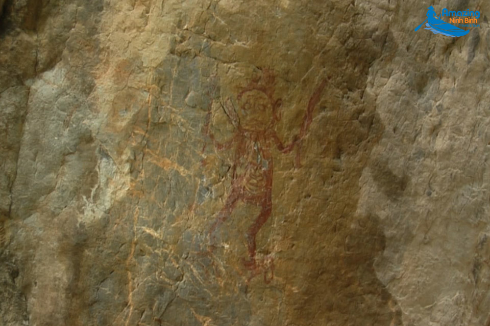 Mysterious Painting On Mount Meo Cao - Amazing Ninh Binh