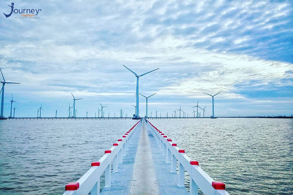 Wind Farm Beautiful As Europe In Bac Lieu - Journey Vietnam