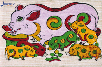 Dong Ho Folk Painting – The Vietnamese Ancient Art Form Of Woodcut